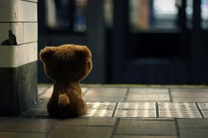Waiting teddybee